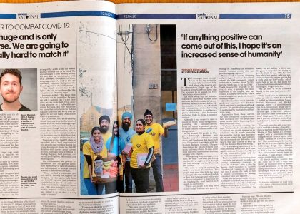 The National Newspaper: How the Sikh Food Bank is helping Scots communities