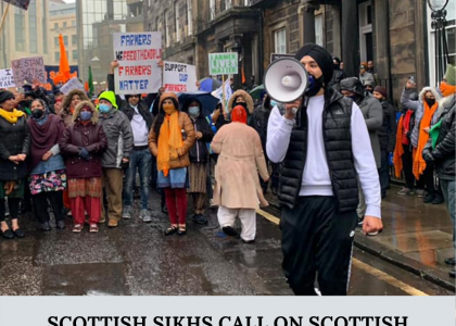 Sikhs in Scotland Support Farmers Protest